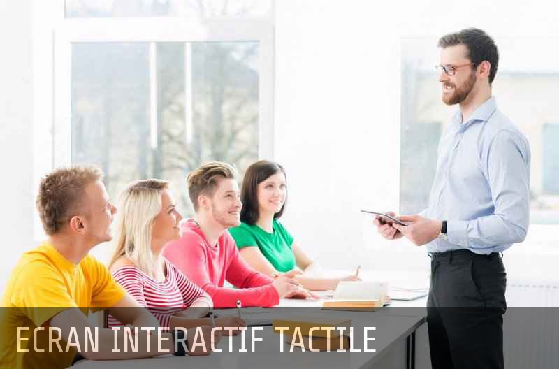 ecran interactif tactile
